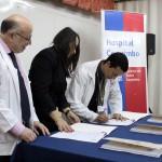Enrique Montalva firma como nuevo Director del Hospital de Coquimbo