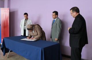Hermanas Hospitalarias firman el término del convenio y traspaso de las dependencias al Hospital de Coquimbo 2