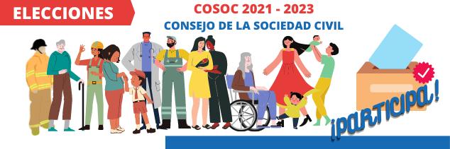 ELECCIONES CONSEJO DE LA SOCIEDAD CIVIL